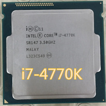Intel Core i7 4770K i7-4770K SR147 3,5 GHz Quad-Core CPU Intel I7-4770K Desktop Prozessor