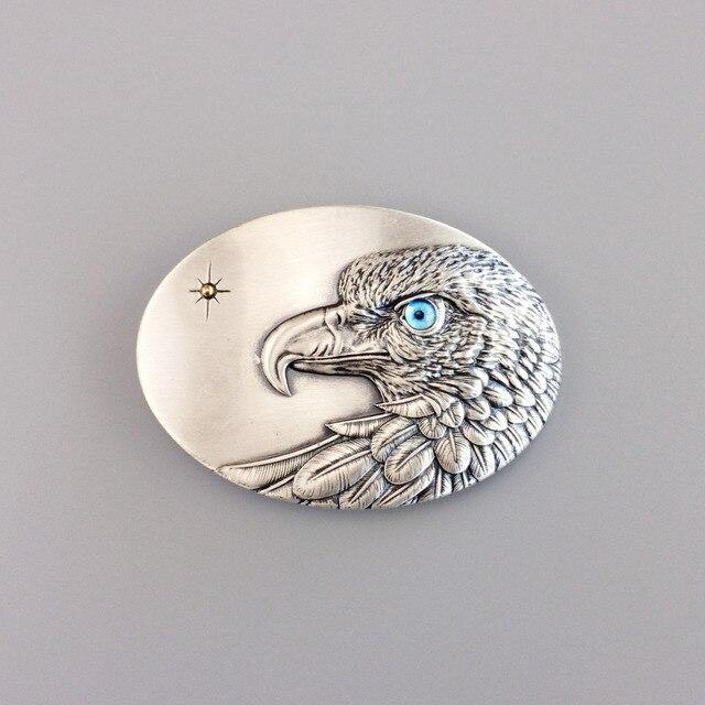 6b0b34663c1a Original Vintage Silver Plated Oval Sun Eagle Belt Buckle Gurtelschnalle Boucle  de ceinture Three Color Eye