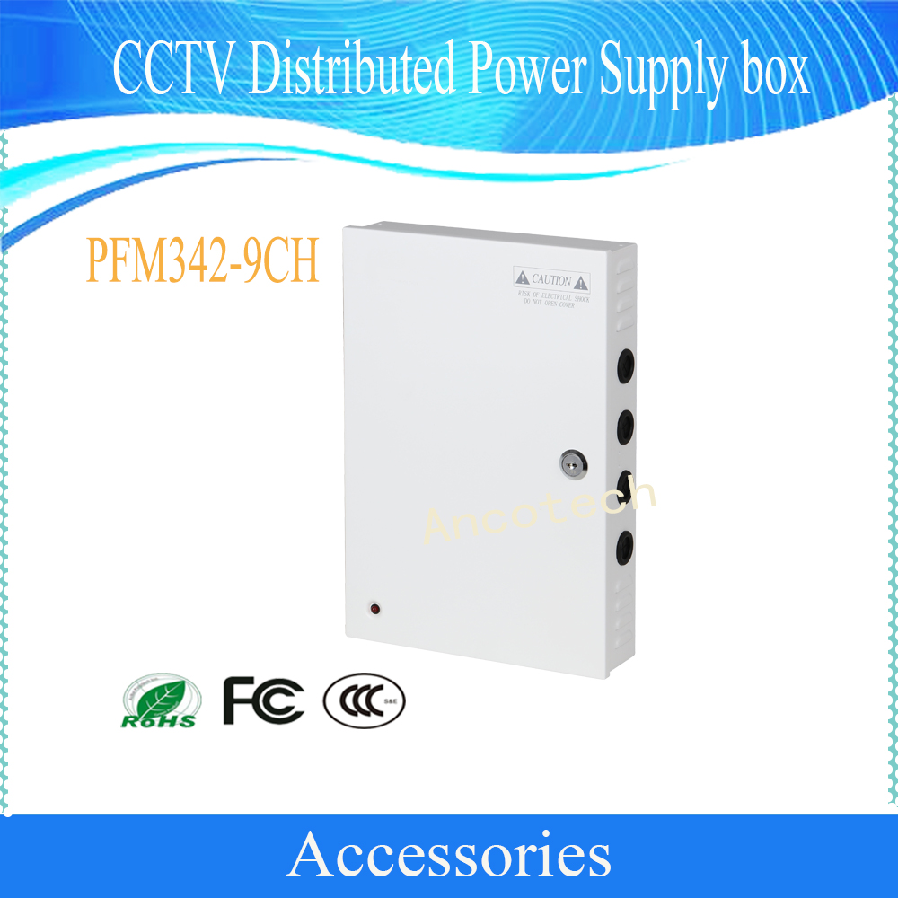 DAHUA Security Camera Accessories CCTV Distributed Power Supply box Without Logo PFM342-9CH distributed reduplication