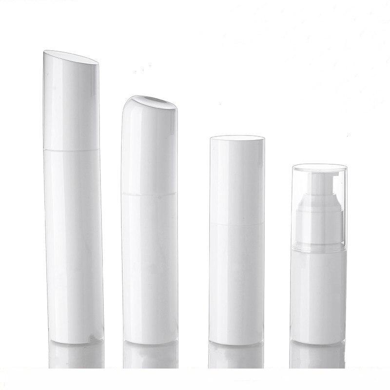 100ML white plastic pump bottle for lotion emulsion serum foundation toner water toilet fine mist sprayer