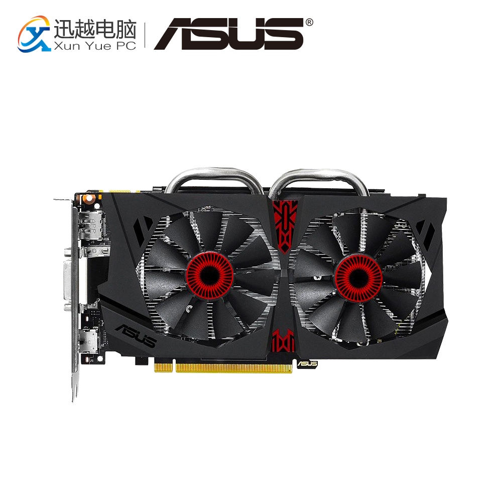 ASUS GTX 950-DC2-2GD5-GAMING Original Graphics Cards 128 Bit GTX 950 GDDR5 Video Card DVI HDMI DP For Nvidia geforce GTX 950 цены онлайн