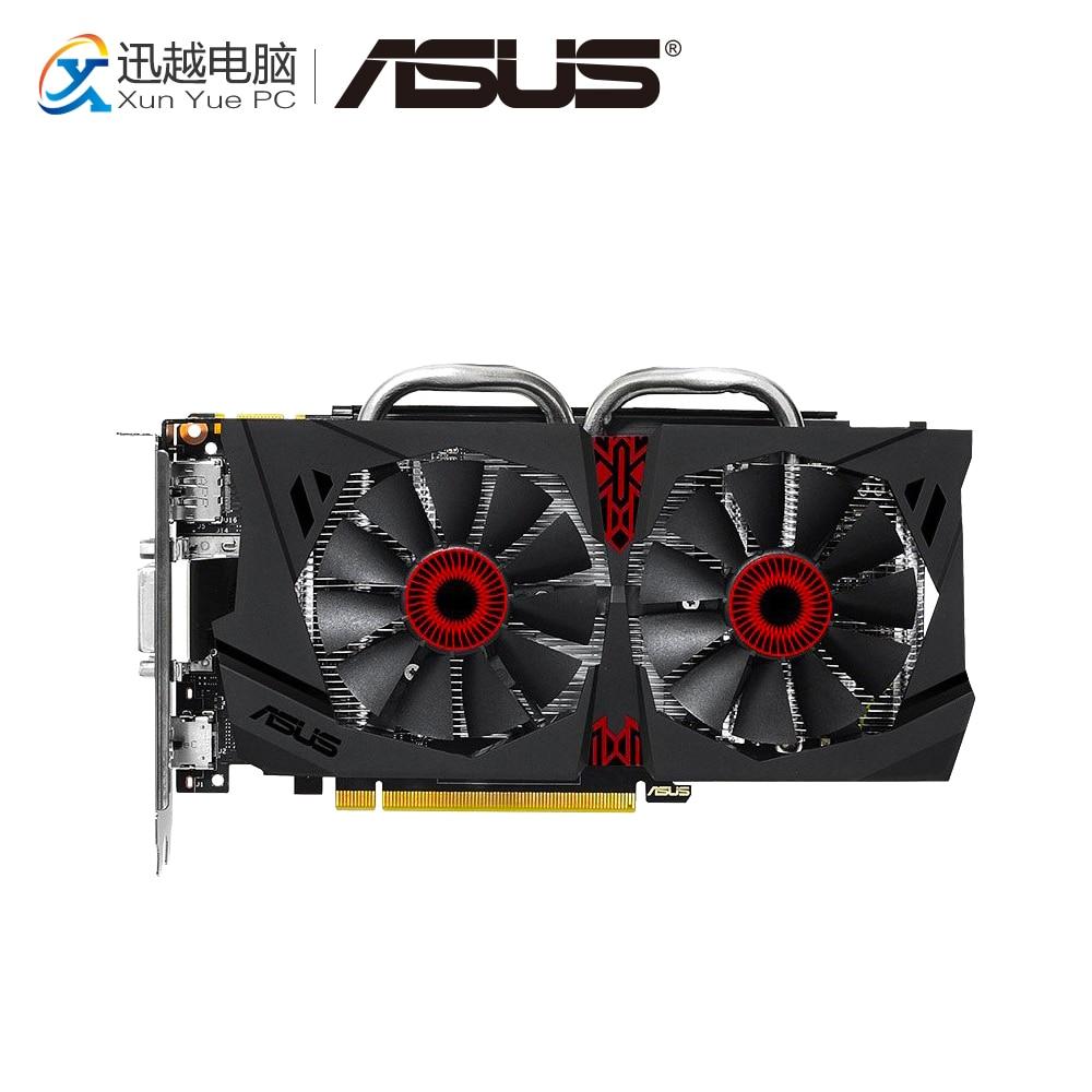 ASUS GTX 950-DC2-2GD5-GAMING Original Graphics Cards 128 Bit GTX 950 GDDR5 Video Card DVI HDMI DP For Nvidia geforce GTX 950 hm 950 ty 950