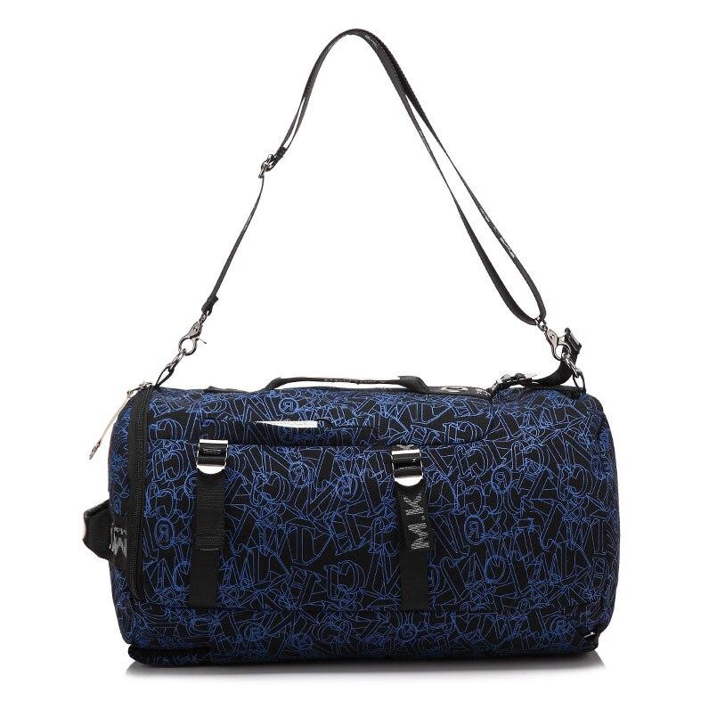 Men's Multi-Functional Backpack Vintage Shoulder Bag High Quality Canvas Male Bagpack Rucksack Travel Luggage for Weekend 5