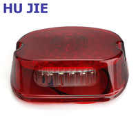 Motorcycle Tail Brake LED Light Red Lens For Harley Electra Glides Motorcycle Stop Lamp