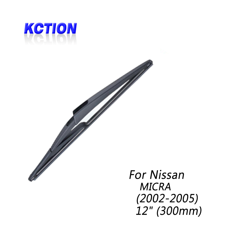 Car Windshield Rear Wiper Blade For Nissan MICRA 2002 2005 Rear wiper Natural rubber Car Accessories in Windscreen Wipers from Automobiles Motorcycles