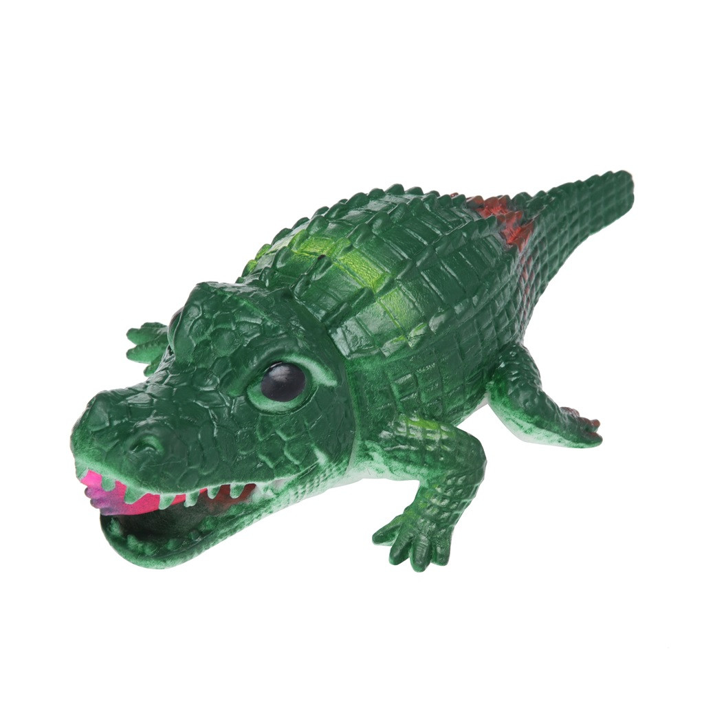 Crocodile Pops Out Leg if Squeeze 14cm Stress Relief Funny Toys 16
