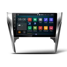 """10.1 """"Quad core 1024*600 HD de pantalla Android 7.1 la radio de Coche GPS de Navegación para Toyota Camry 2015-2016 con 4G/Wifi, DVR OBD 1080 P"""