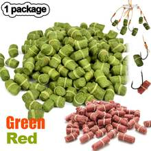1 Bag Fishing Bait Smell Grass Carp Baits Lure Formula Insect Particle Rods ASD88