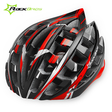 ROCKBROS Men MTB Bicycle Cycling Helmet 36 air Safety Cycling EPS Ultralight Helmet Road Mountain Bike Helmet Red Blue Yellow 35