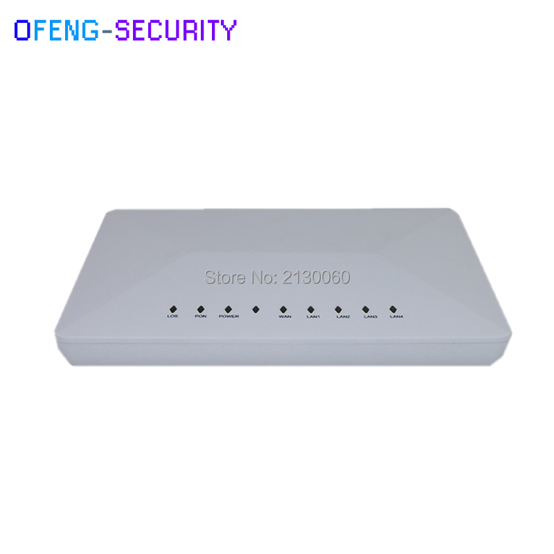 Compatible With Main Olt Vendor Customized Gpon Ont Onu Rl804g 1ge+3fe Fiber Optic Equipments Communication Equipments