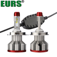 EURS 2PCS 3P H7 H4 LED H11 H1 9005 9006 9012 HB3 HB5 H3 32W Car