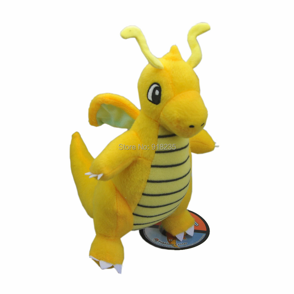 """10/Lot Dragonite 9 """"# S Plüsch Puppe Weiche Anime Cartoon Für Kinder Geschenke Stofftiere-in Filme und TV aus Spielzeug und Hobbys bei  Gruppe 2"""