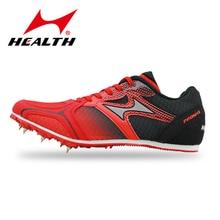 Здоровье мужчин и женщин спринты ногтей Шипы Профессиональный трек и поле спортивная обувь, для студентов обучение высокие прыжки бутсы кроссовки
