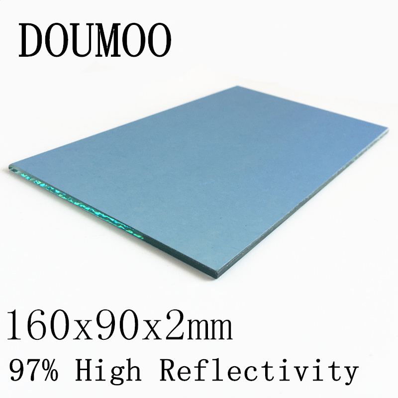 1PC 160x90x2mm Projector Reflector Mirror DIY Projector Accessories 97% High Reflectivity Lens For Projector Screen