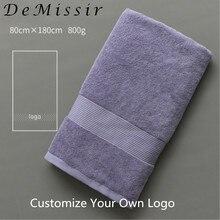 DeMissir OEM Custom Logo Beauty Salon Towel Egyptain Cotton Bath