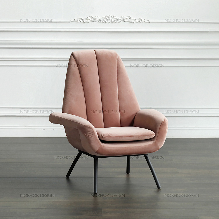 Nordic Face / Holland Furniture Brand ASIADES/Bardox Velvet Armchair /  Lounge Chair / Smoke Powder In Living Room Chairs From Furniture On  Aliexpress.com ...