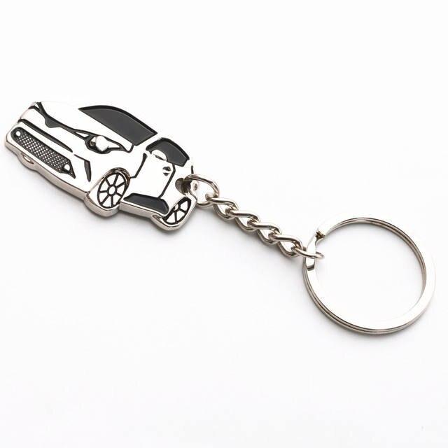 online shop nuova lega di zinco-alluminio anello chiave keychain