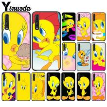 Yinuoda funny Tweety Bird cute Coque Shell Phone Case for Huawei Mate10 Lite P20 Pro P9 P10 Plus View 10 Cover(China)