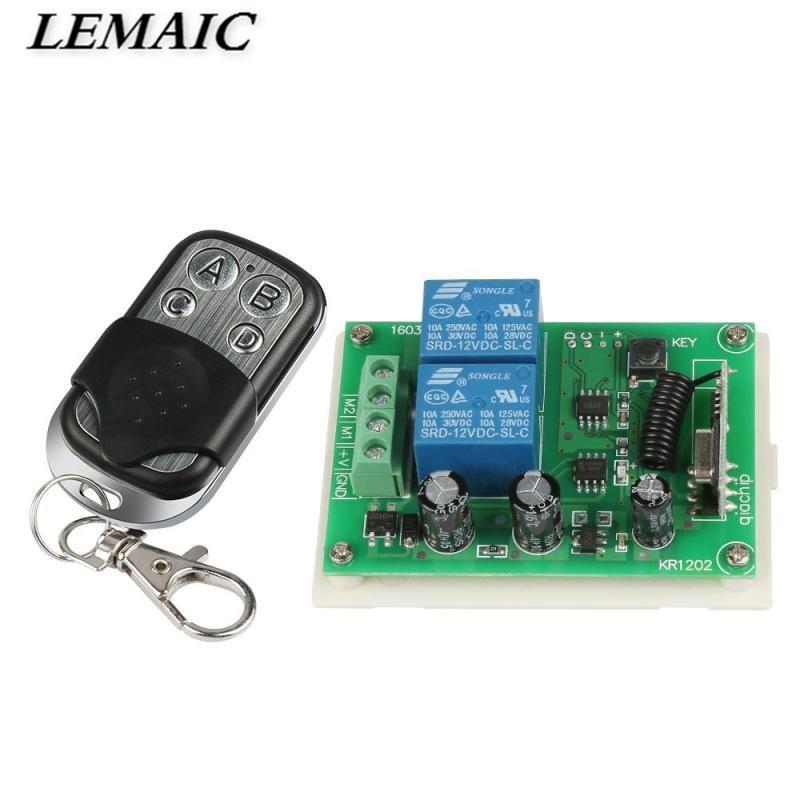 Interruptores e Relés 433 mhz universal sem fio Modelo Número : 433mhz Code Grabber Garage Door Remote Control Switch