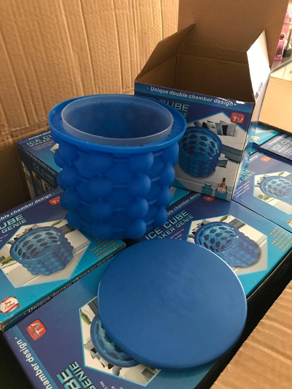 Nueva hielo Genie revolucionario ahorro de espacio hielo Genie herramientas de cocina envío de la gota