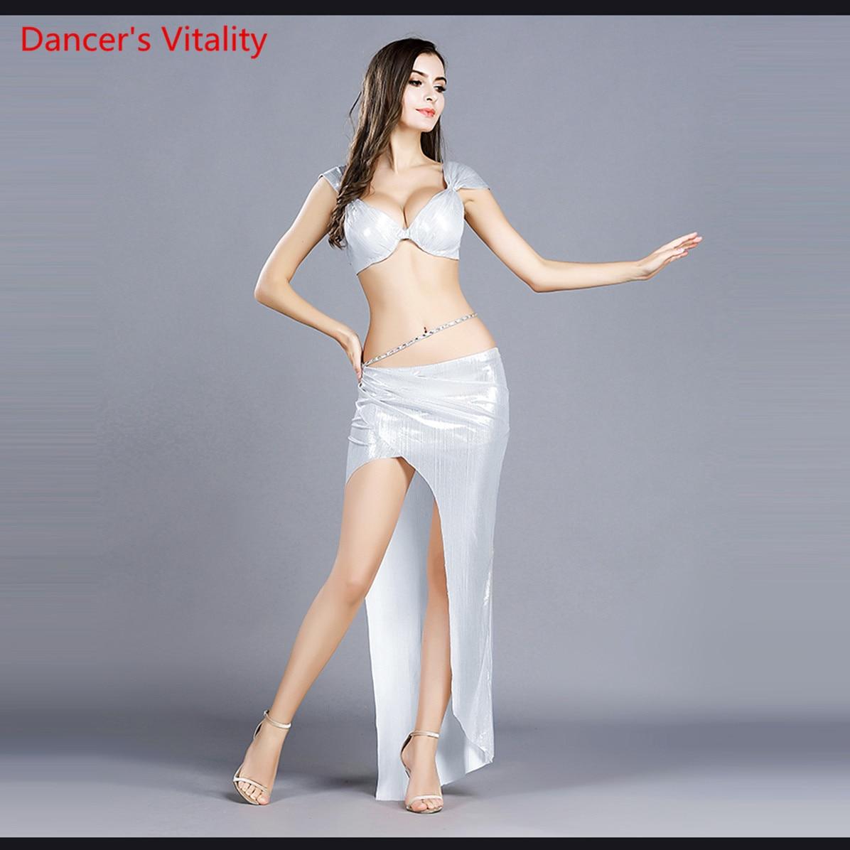 Belly Dance Costume Women Costumes New Set Of Sexy Oriental Dance Clothes Summer High-end Bra+Skirt 2pcs