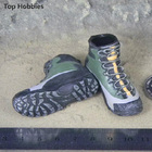 1/6 military soldier model accessories PMC army green combat boots No foot Doll shoes The spot Fit 12 Inch Phicen Action Figure