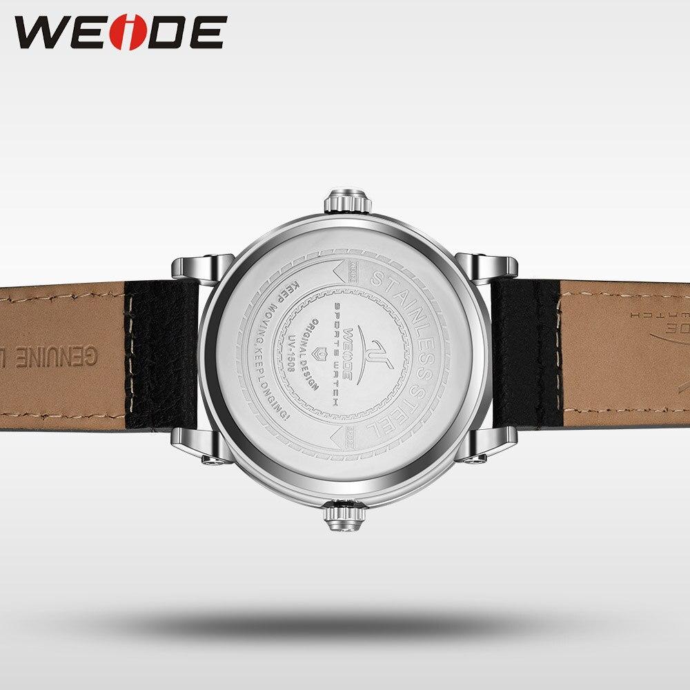 Marca WEIDE Universe Series Japón Reloj de cuarzo Casual Zona - Relojes para hombres - foto 6
