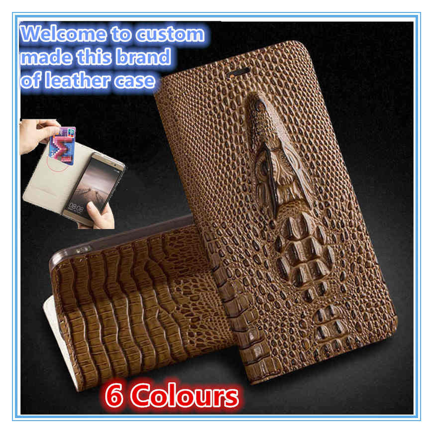 QH10 Genuine leather flip case with card slot for Samsung Galaxy A50(6.4') phone case for Samsung Galaxy A50 flip case