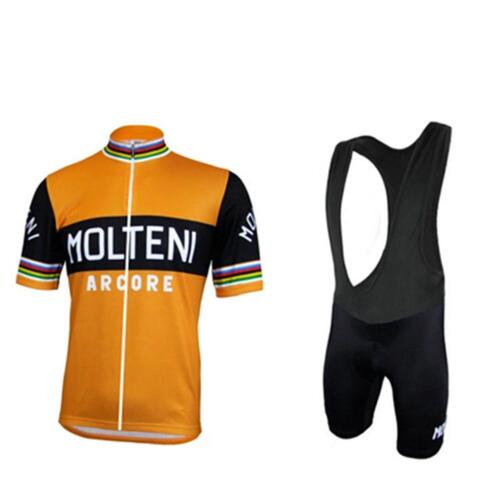 Prix pour Nouveau MOLTENI Vélo Jersey Hombre Maillot Ropa Ciclismo pro vélo Course Vêtements Sport En Plein Air Porter Serré À Séchage Rapide CHAUD