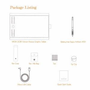 Image 5 - Gaomon M10K 2018バージョン10 × 6.25インチアートデジタルグラフィックタブレット8192レベルで描画ペン圧力パッシブスタイラス