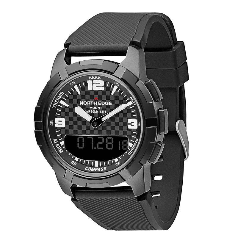 Men Watches Sport Military NORTH EDGE Automatic Army Watches Clock Men Digital Relogio Masculino Man Digital Watches Waterproof