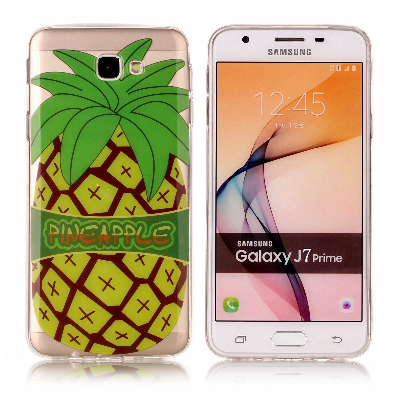For Samsu Sumsung Galaxy J7 Prime New Pretty Silicone Transparent TPU Soft Ultra Case Etui Fundas Phone Mobile Carcasa