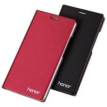 הגעה חדשה עבור Huawei Honor 5c/5x מקרה, יוקרה Slim סגנון Flip עור מקרה עבור Huawei Honor 5c כבוד 5x כיסוי תיק 360 להגן