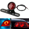 Motorcycle license plate rear light metal 12V taillights for ATV Cafe Racer Hot Selling