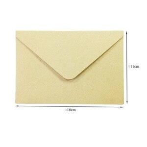 Image 2 - 100PCS/lot Vintage Kraft paper envelope 16*11cm DIY Multifunction Gift card envelopes for wedding birthday party