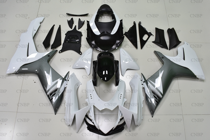 GSX R <font><b>600</b></font> 13 14 Plastic <font><b>Fairings</b></font> <font><b>GSXR</b></font> 750 2011 - 2015 K11 White Black Grey <font><b>Fairings</b></font> for <font><b>Suzuki</b></font> GSXR600 13 14 <font><b>Fairing</b></font> <font><b>Kits</b></font> image