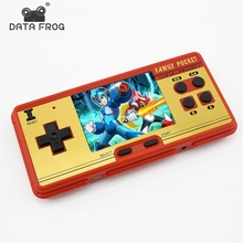 Data Frog video game Portable Handheld console Built-in 638 games retro mini game best gift for child support AV out