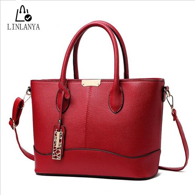 LINLANYA Большой Размер Сумки Повседневная сумка для Женщин Сумки Посыльного Моды Плед Плеча сумки Женские Bolsas X-k30