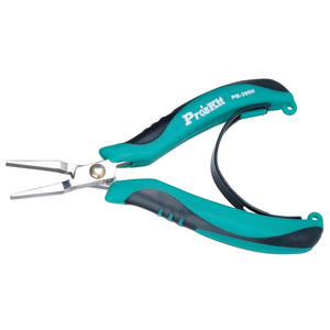 Nose-Plier Electronic-Products-Repair Stainless-Steel Pliers120mm Flat Vise Pointed Mini