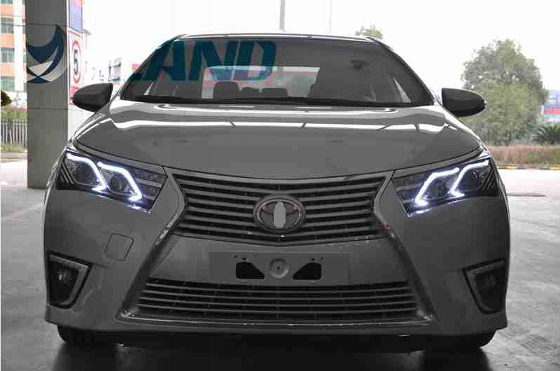 VLAND Factory Car head lamp for Corolla LED Headlight 2014 2016 for Corolla Head light with xenon HID projector lens and Day