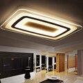 Новые современные светодиодные потолочные лампы с пультом дистанционного управления 2 4G RF  затемняемый цвет для гостиной  спальни  потолочн...