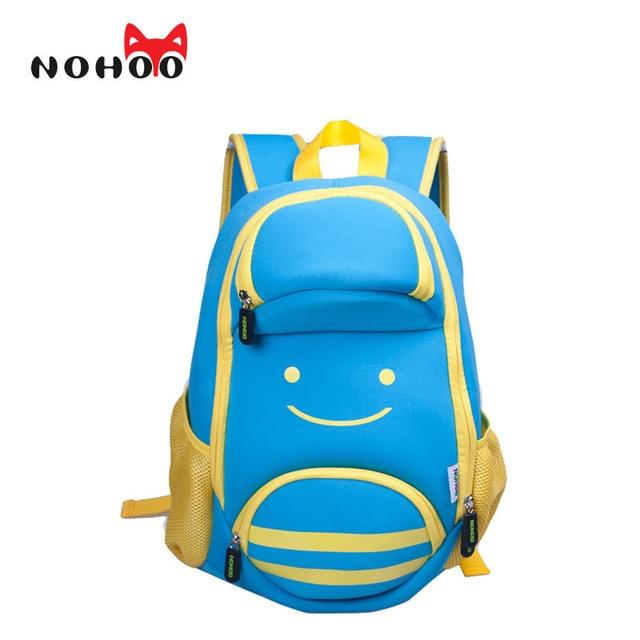 NOHOO 3D Animals Waterproof School Bags for Boys Large Capacity Cartoon Schoolbag Child Bookbag Kids Backpack for Teenagers