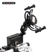 Camera VCR Phone Holder For SUZUKI AN 650 Burgman AN650 2004 2017 Motorcycle Accessories GPS Navigation Bracket USB Charger