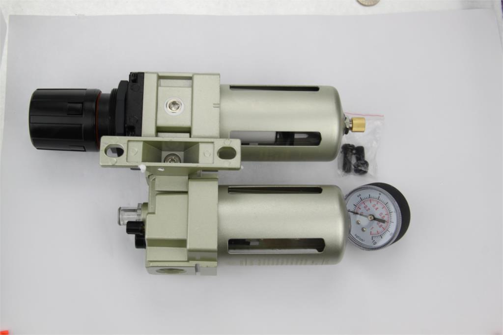 SMC type AC4010-03A RC3/8'' Air Filter Combination  F.R.L unit  AC series  (two union) SNS compressure drain (AW4000-04+AF4000) for free post quality eco friendly smc series air combination units smc ac4010 type 15 years only do the welding machine helmet