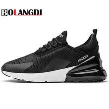 BOLANGDI/Новые весенне-осенние кроссовки для прогулок, удобные Брендовые мужские кроссовки, Мужская дышащая спортивная обувь, размер 39-46