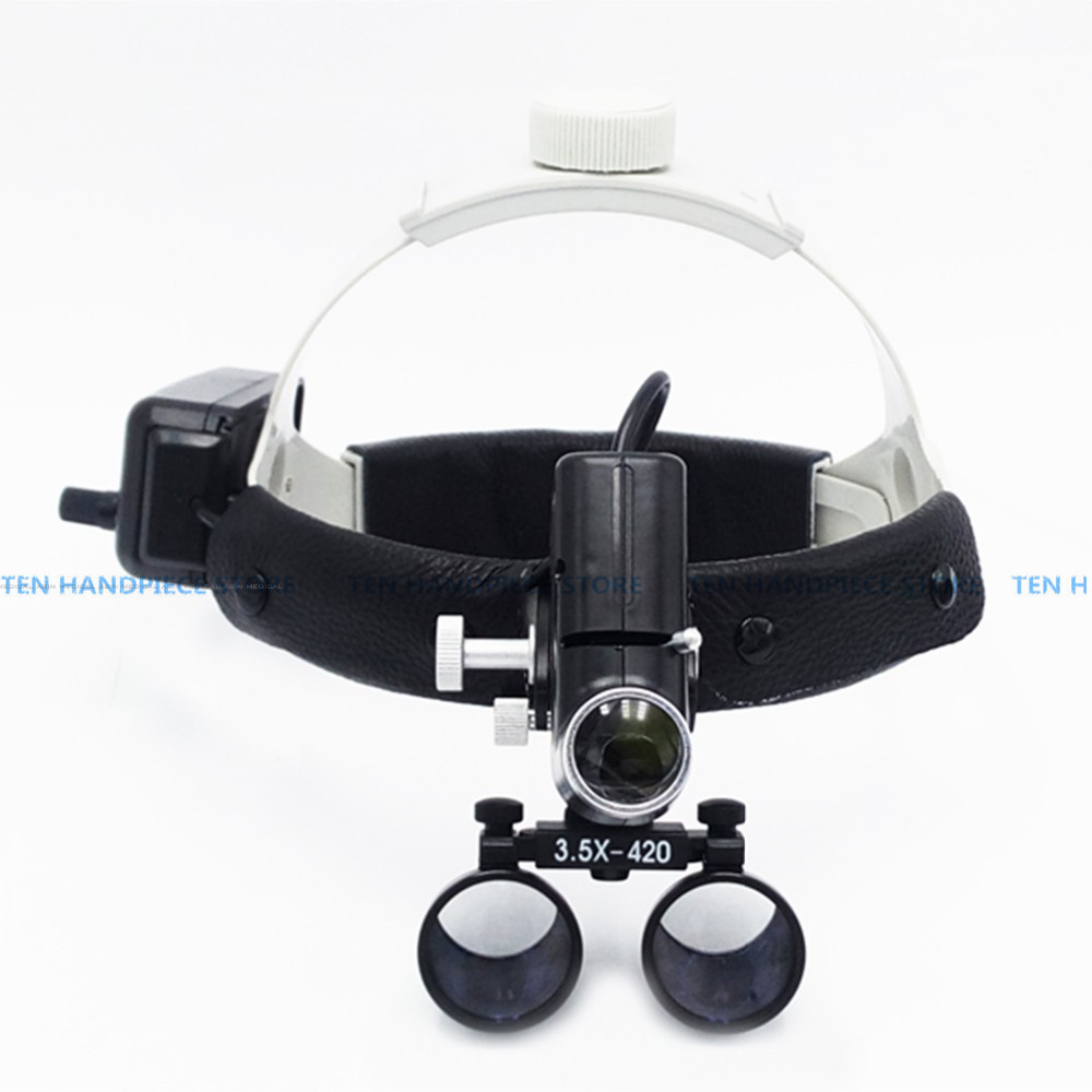 2018 new 3.5X magnifier high intensity led light dental loupe surgeon operation led head lamp surgical headlamp dental headlight brand new oem no 06a 133 062 c 0 280 750 036 electronic throttle body case for audi tt and vw jetta bora golf beetle