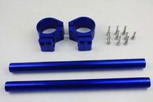 Handlebar clip-on for Honda RC45 51 CBR 929 954 1000RR Kawasaki ZX-6R 10R BLUE