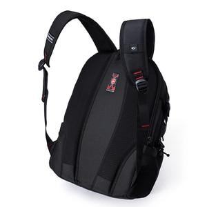 Image 5 - Anti Theft Oxford Business Backpack Men External Charging USB Function Laptop Backpack Swiss Waterproof Travel bag 17 inch women