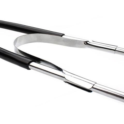 22.5+7CM Mechanics Cylinder Stethoscope Car Engine Block Diagnostic Automotive Hearing Tools Anti-shocked Durable Chromed-steel Multan