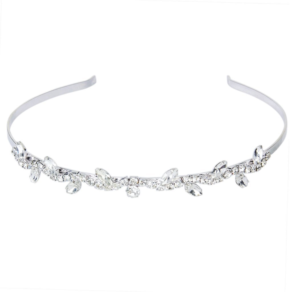 Bride/Bridesmaid/Girl Floral Branch Headband Tiara for Wedding/Engagement/Prom